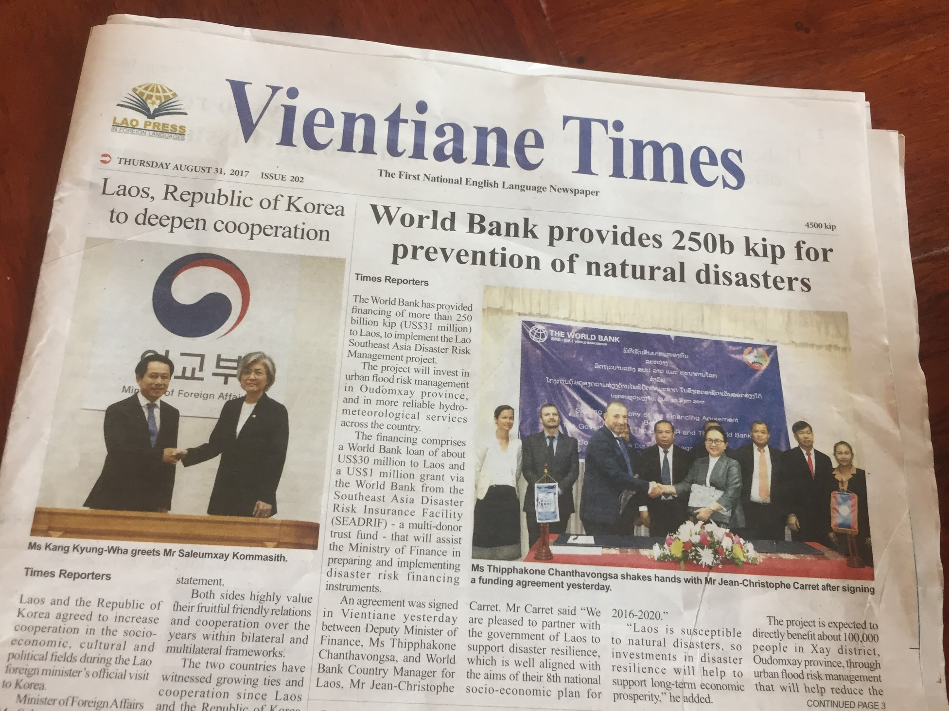 Posted on Vientiane Times | SocialCompass